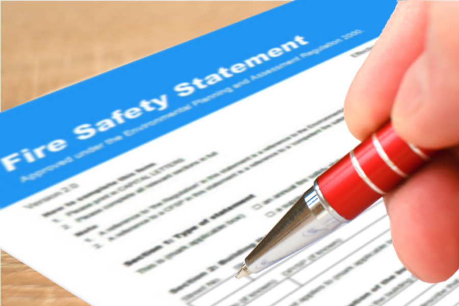 How to complete your Fire Safety Statement